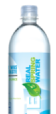 natural spring bottled water