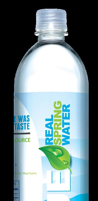 natural spring bottled water