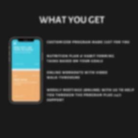 Blue Typographic Social Media Graphic (4