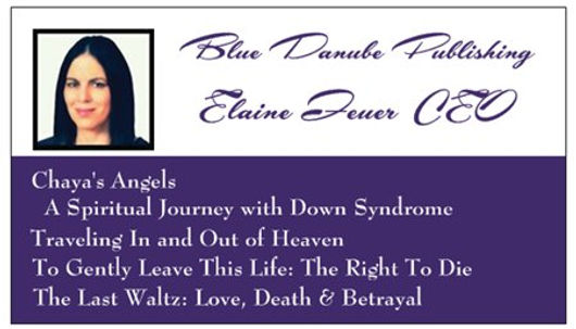 Contact Elaine | Blue Danube Publishing