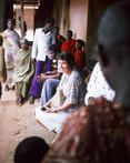 Wife Helen in Techiman Ghana, 1977