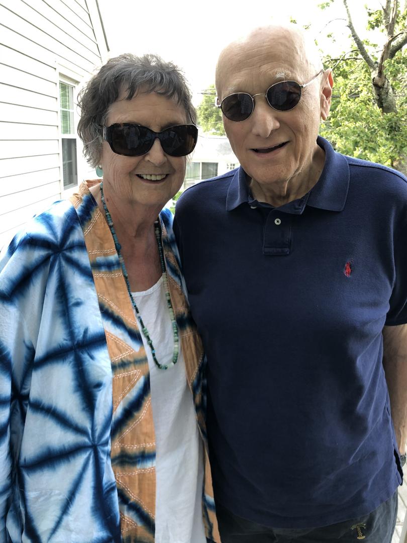 Helen and Jim, Summer 2020