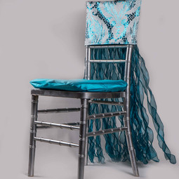 Blue Chair Front