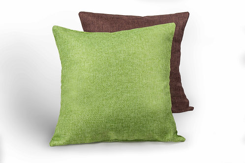 Yute Green Pillow