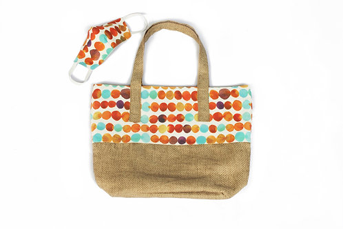 Margarita Bag and Face Mask with Non-Woven Interfacing Filter