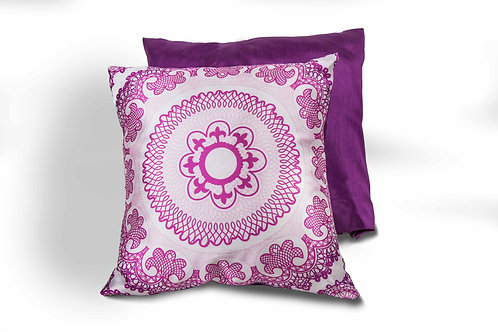 Ardmore Pattern Pillow Purple