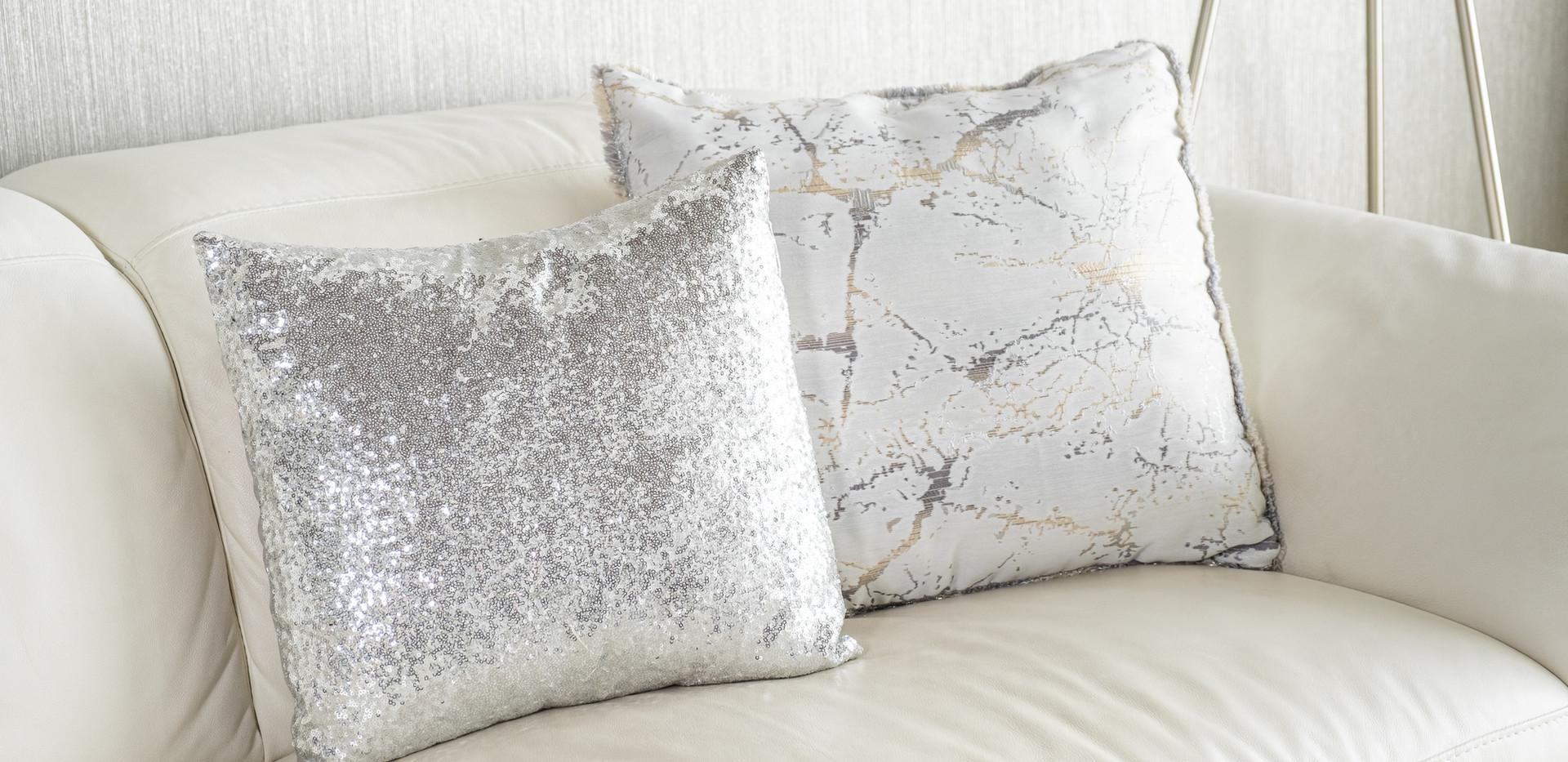 White Cushions