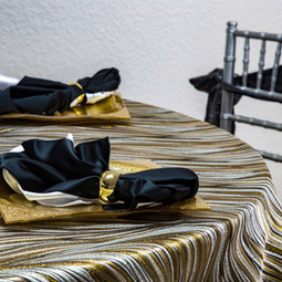 Gold, Black and White Combinations