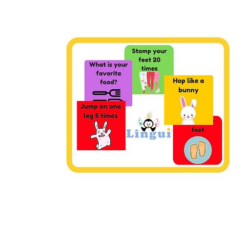 משחק קלפים- מתאים לכל המשפחה