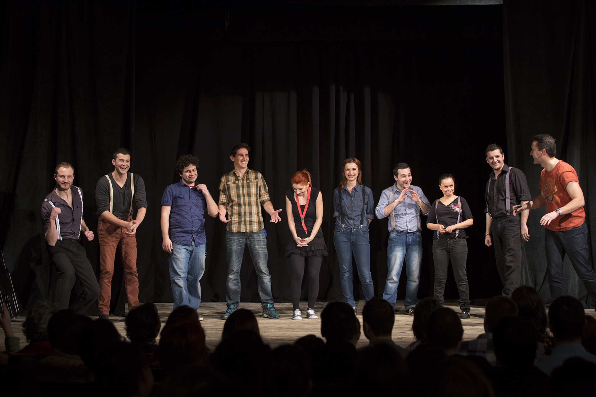 Improv and friendship