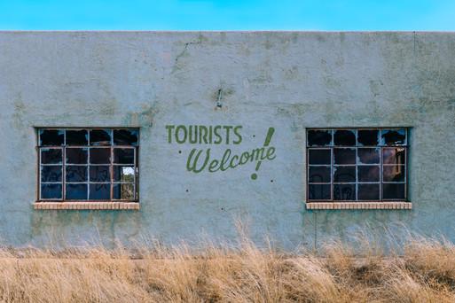 tourists welcome!