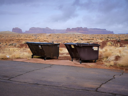 old hollywood backot dumpsters
