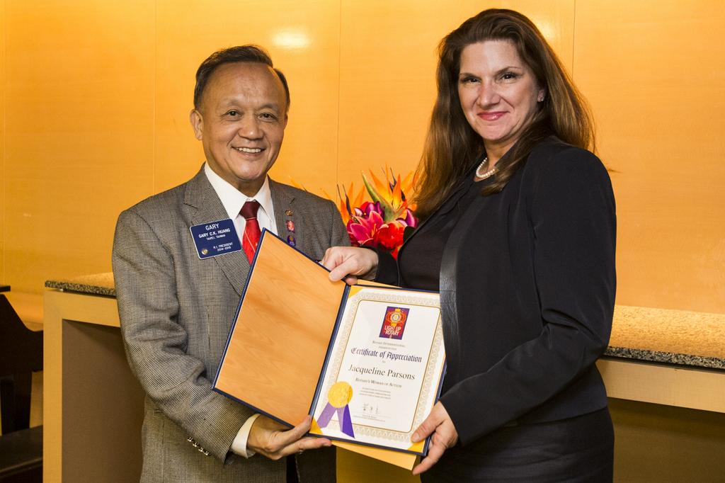 "Rotary's ""Women of Action"" Award"