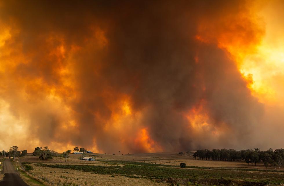 Emergency warned Rappville fire