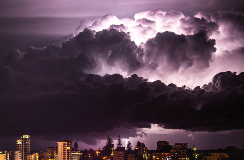 Night Time lightning