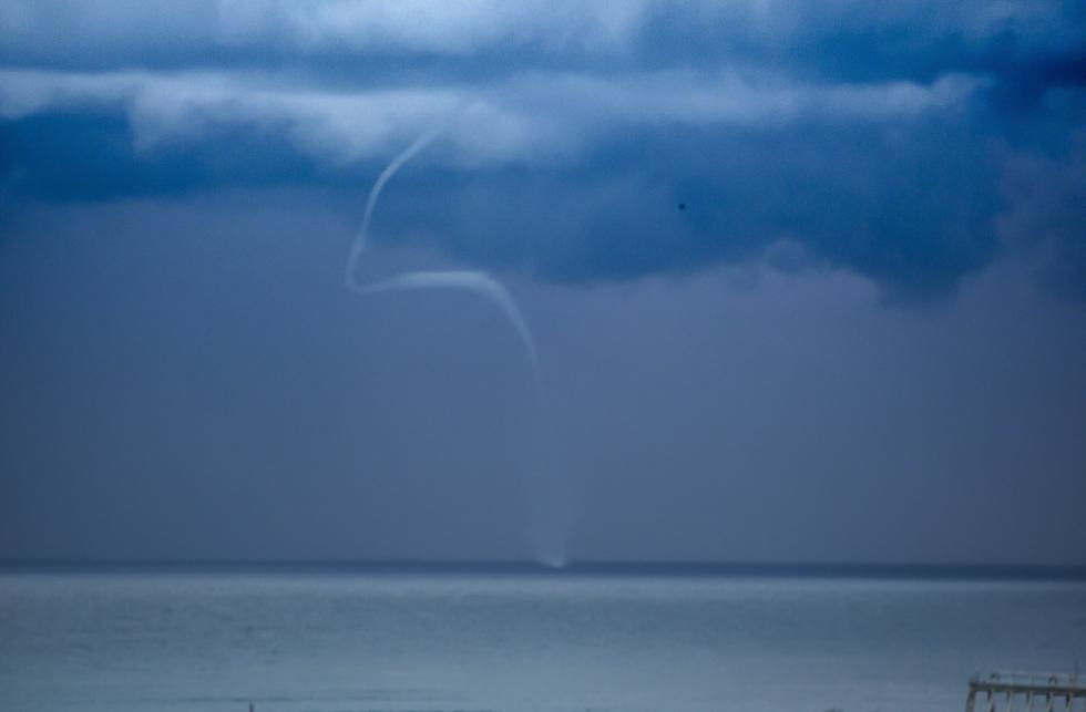Waterspout off Coolangatta