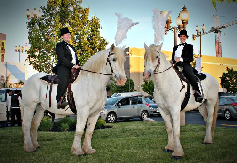 Guard horses