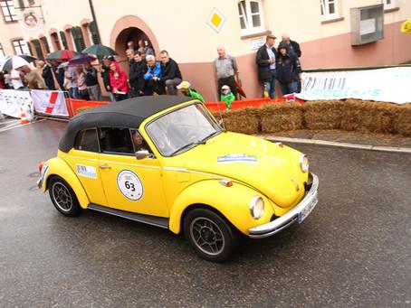 Mitglied Klaus Östringer bei der ADAC Heidelberg Historic Rallye 2019 vertreten