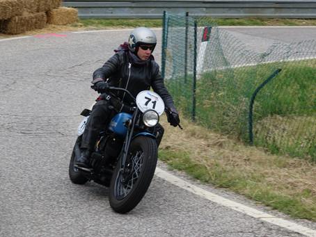 Int. Südtiroler Bergpreis für Veteranen-Motorräder in Nals