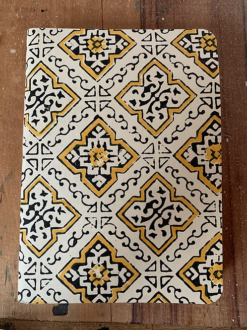 BLOCK PRINTED NOTEPAD