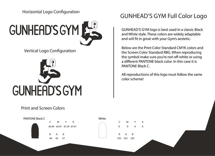 Nick Halliday logo manual GUNHEADSGYM-04
