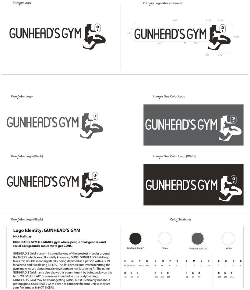 GUNHEAD'S GYM logo