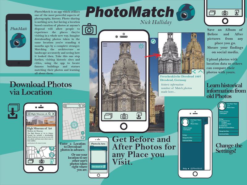 PhotoMatch App Design