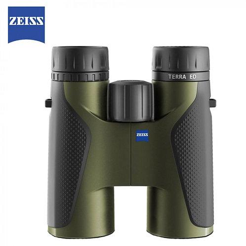 ZEISS TERRA ED 10X32 BLACK/GREEN BINOCULARS