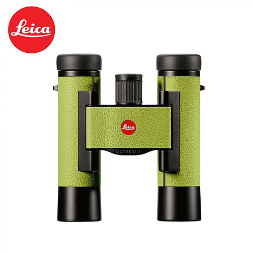 LEICA ULTRAVID 10X25 COLORLINE APPLE GREEN BINOCULAR