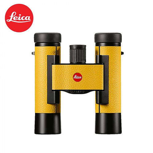 LEICA ULTRAVID 10X25 COLORLINE LEMON YELLOW BINOCULAR
