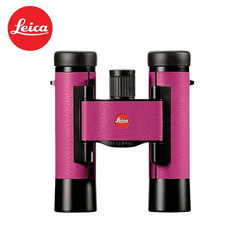 LEICA ULTRAVID 10X25 COLORLINE CHERRY PINK BINOCULAR
