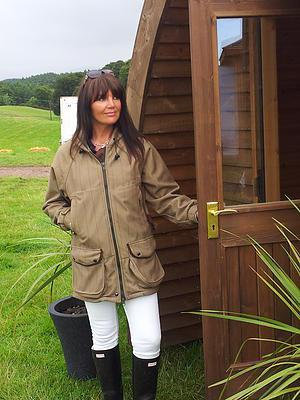 Nomad Hooded Shooting Country Coat