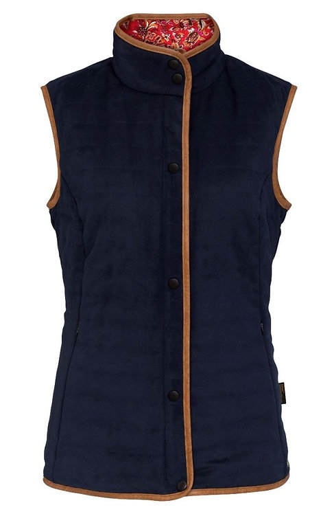 Alan Paine Felwell Ladies Quilted Waistcoat
