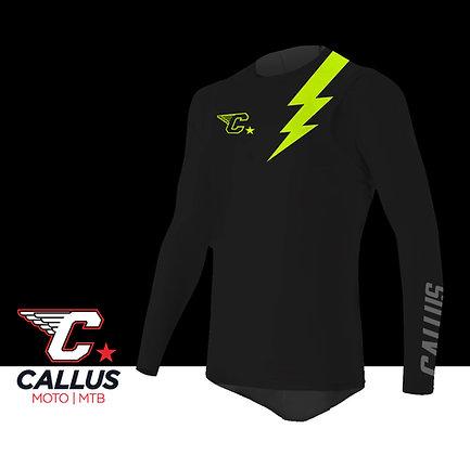 Interlock lightning jersey