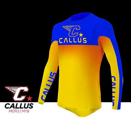 Interlock crazy yellow jersey