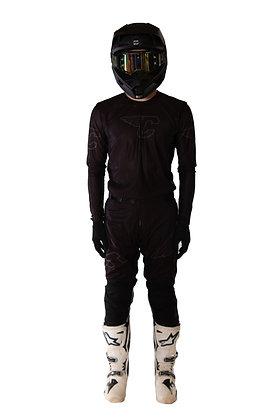 Black Jersey Regular fit