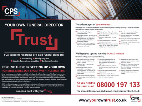 Have you seen our Advert in the FST and the FDM...keep a look out for it...