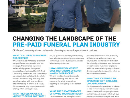 We Are in The Funeral Service Times Read how we can improve your Business..!