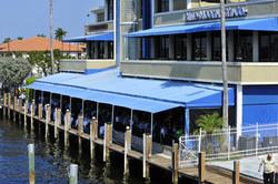 Elegant waterfront dining