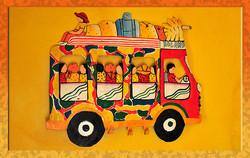 Happy Haitian art