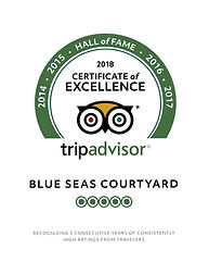 2018 certificate of excellence trip advisor