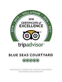2018 certificate of excellence trip advior