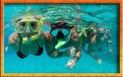 Local snorklers