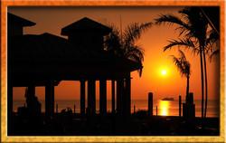 Sunrise at the pavilion