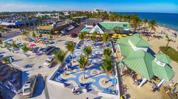 Ocean plaza birdseye view