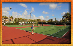 Municipal tennis courts