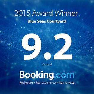 2015 award winner blue seas courtyard 9.2 out of 10
