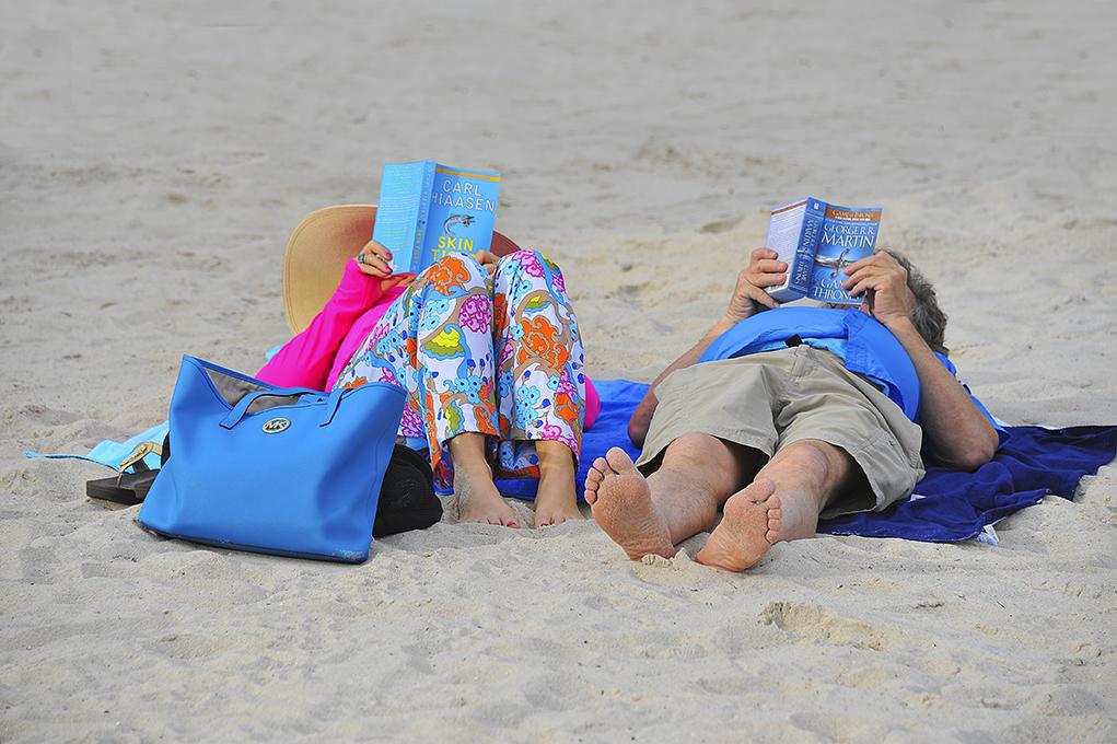 Beach pros