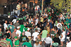 Downtown street parties