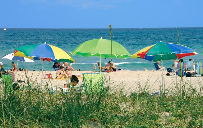 Nice beach day